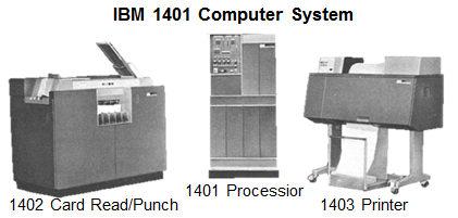 storage_IBM 1401 computer system