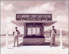 USMC Kaneohe gate